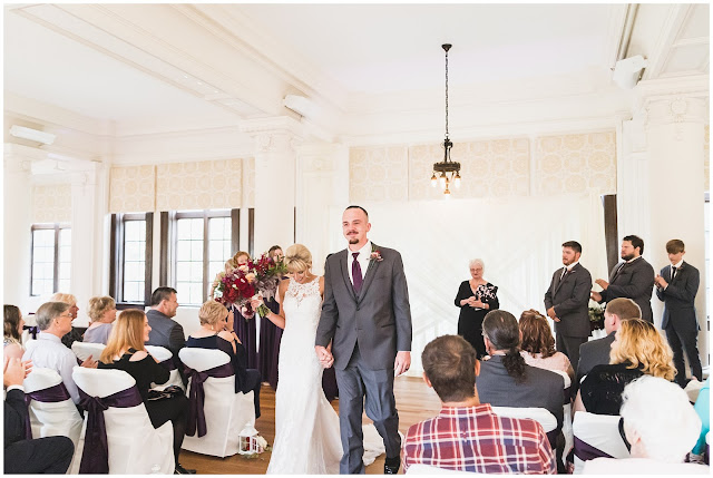photo of wedding in Le Fer Ballroom