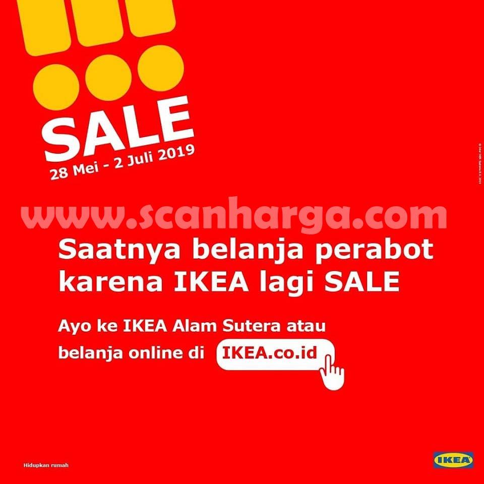 Brosur Katalog IKEA Promo SALE 28 Mei - 2 Juli 2019