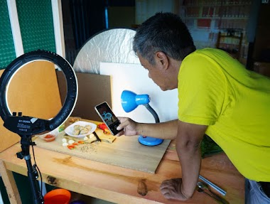 Membuat tutorial fotografi makanan memakai smartphone