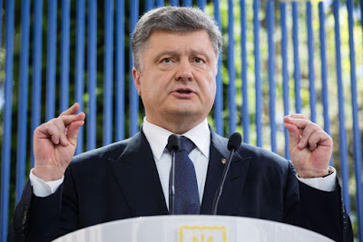 President Poroshenko hold extended press conference on the results of the first year of the ruling.