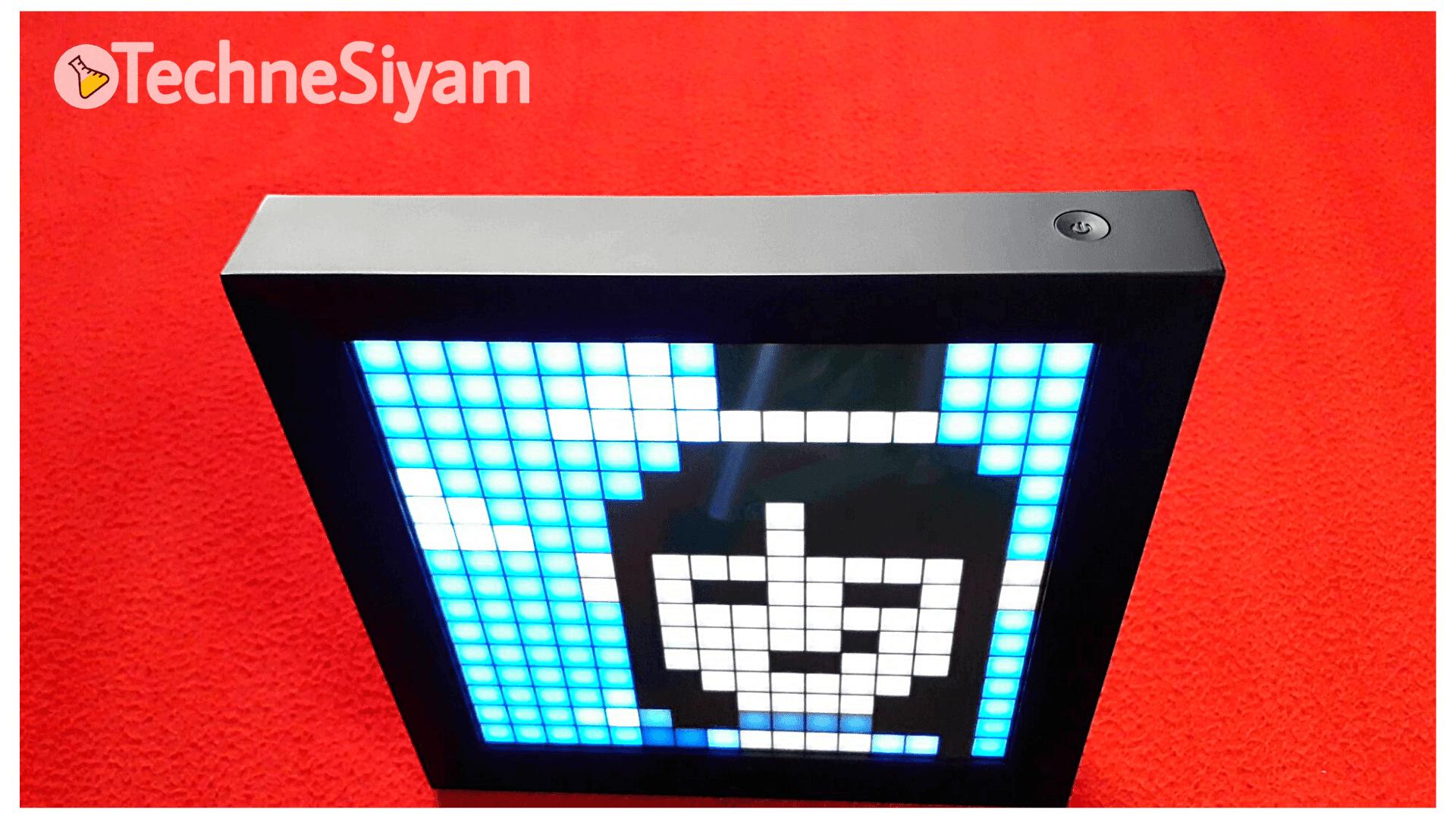 Pixoo Power Button - TechneSiyam