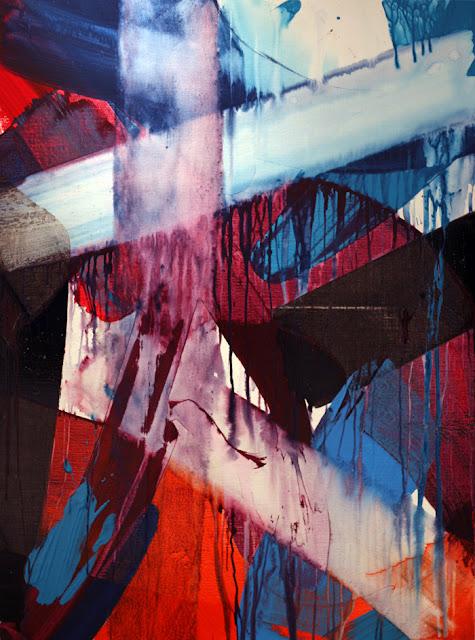 peinture acrylique jean baptiste besançon abstraction lyrique