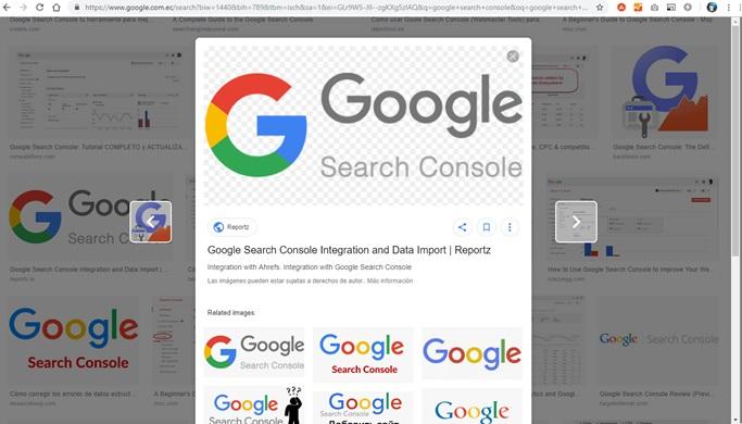La Búsqueda de imágenes de Google está lanzando un nuevo diseño para la vista previa de la imagen