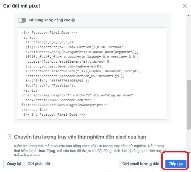 Theo Dõi Chuyên Đổi Trong Quảng Cáo Facebook (Conversion Tracking) 5
