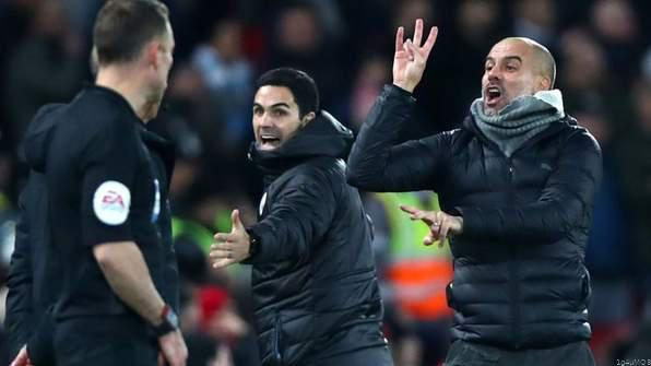 Pep Avoids FA Charges After Clash With Referee