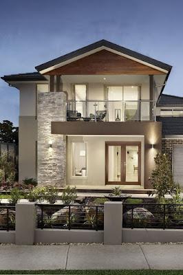 5 Desain Rumah Minimalis Tampak Depan Dengan Batu Alam