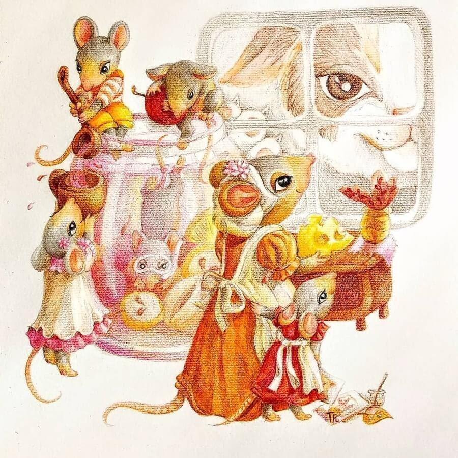 10-The-mouse-family-Tatyana-Romanova-www-designstack-co
