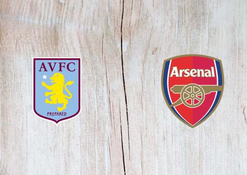 Aston Villa vs Arsenal -Highlights 21 July 2020