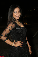 Sakshi Agarwal looks stunning in all black gown at 64th Jio Filmfare Awards South ~  Exclusive 141.JPG