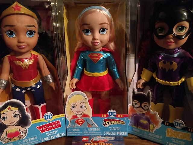 DC SuperHeroGirls Toddler Dolls