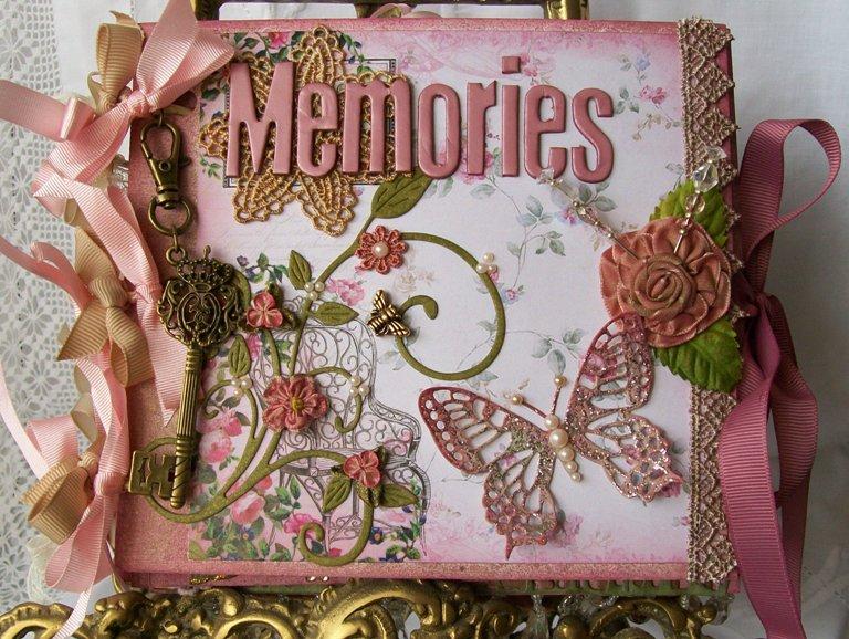 Memories Embossed Scrapbook Album by Recollections®
