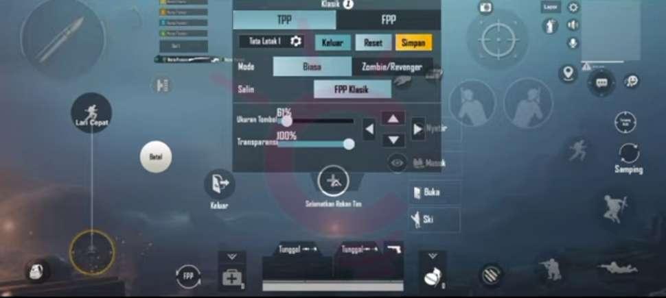 Settingan PUBG Mobile : Dasar, Grafis, Control Ala Pro Player Untuk Pemula