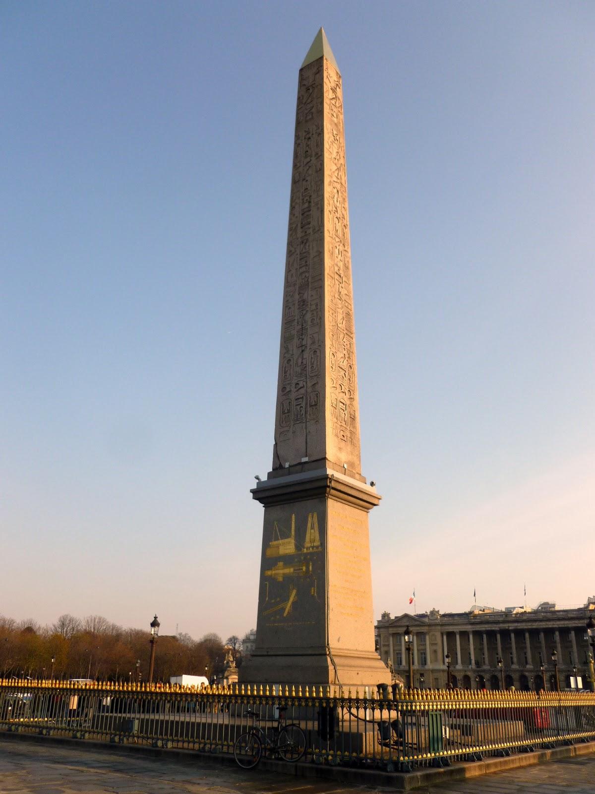 Photoops: Obelisks: Obelisk of Luxor  Paris, France