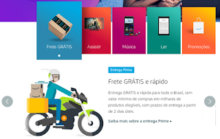 Frete-Gratis, Amazon-Prime