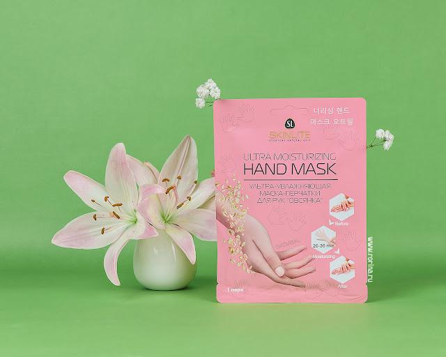 Skinlite Ультра-увлажняющая маска-перчатки для рук «Овсянка» Ultra Moisturizing Hand Mask: отзывы с фото