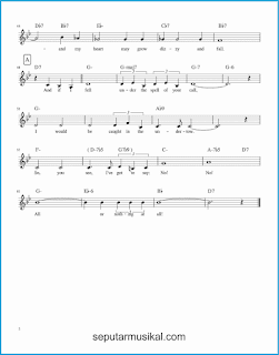 chord all or nothing at all 2 lagu jazz standar