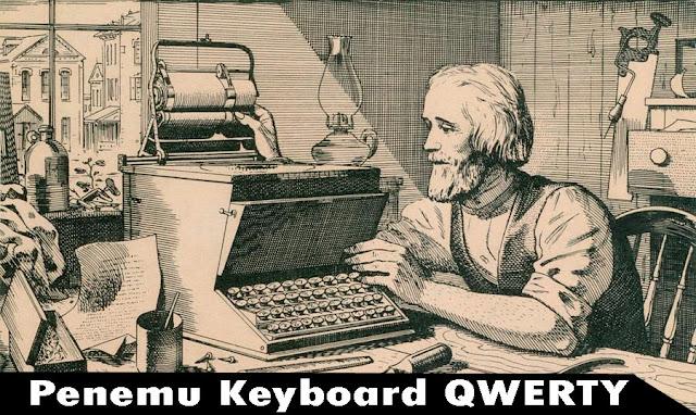 Siapa Penemu Keyboard Qwerty? Ini Jawaban nya.., penemu keyboard qwerty, sejarah keyboard qwerty, pencipta keyboard