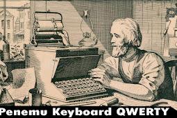 Siapa Penemu Keyboard Qwerty? Ini Jawaban nya..