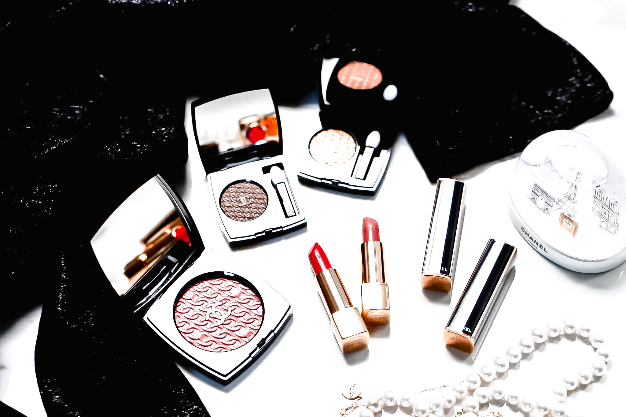 Chanel Collection Maquillage Chaînes d'Or Noël 2020
