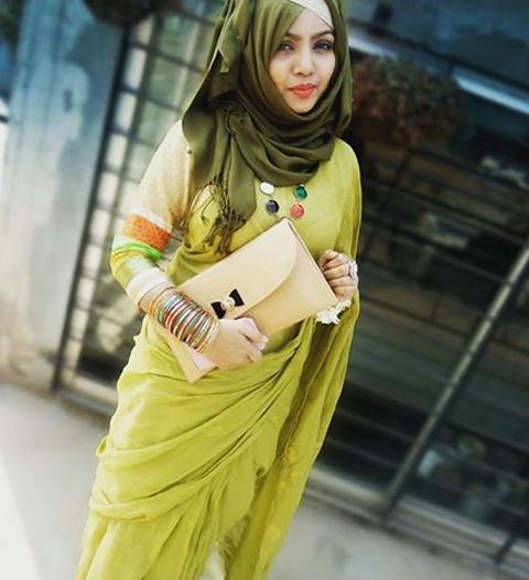 baju muslim modern ala india