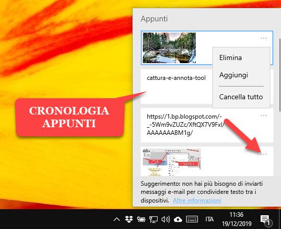 cronologia-appunti-gestione