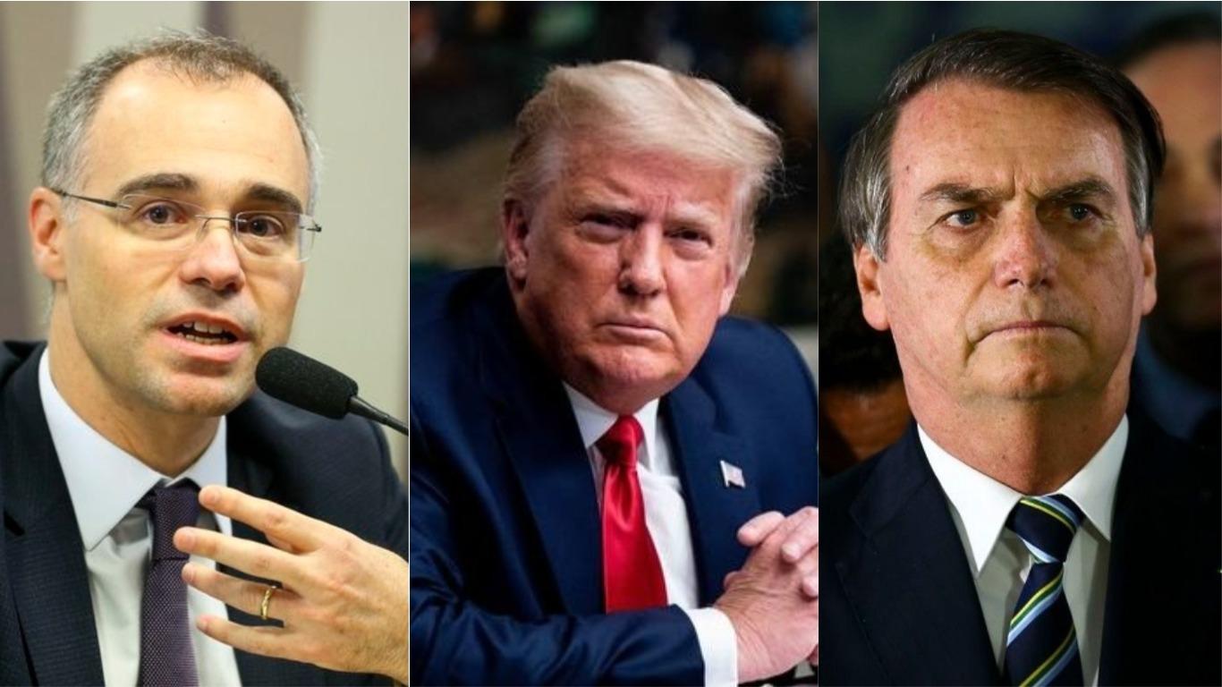 André Mendonça, Trump, Bolsonaro