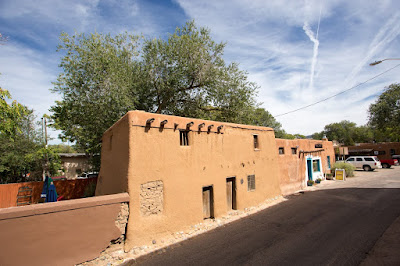 Oldest House Santa Fe New Mexico by Laurence Norah