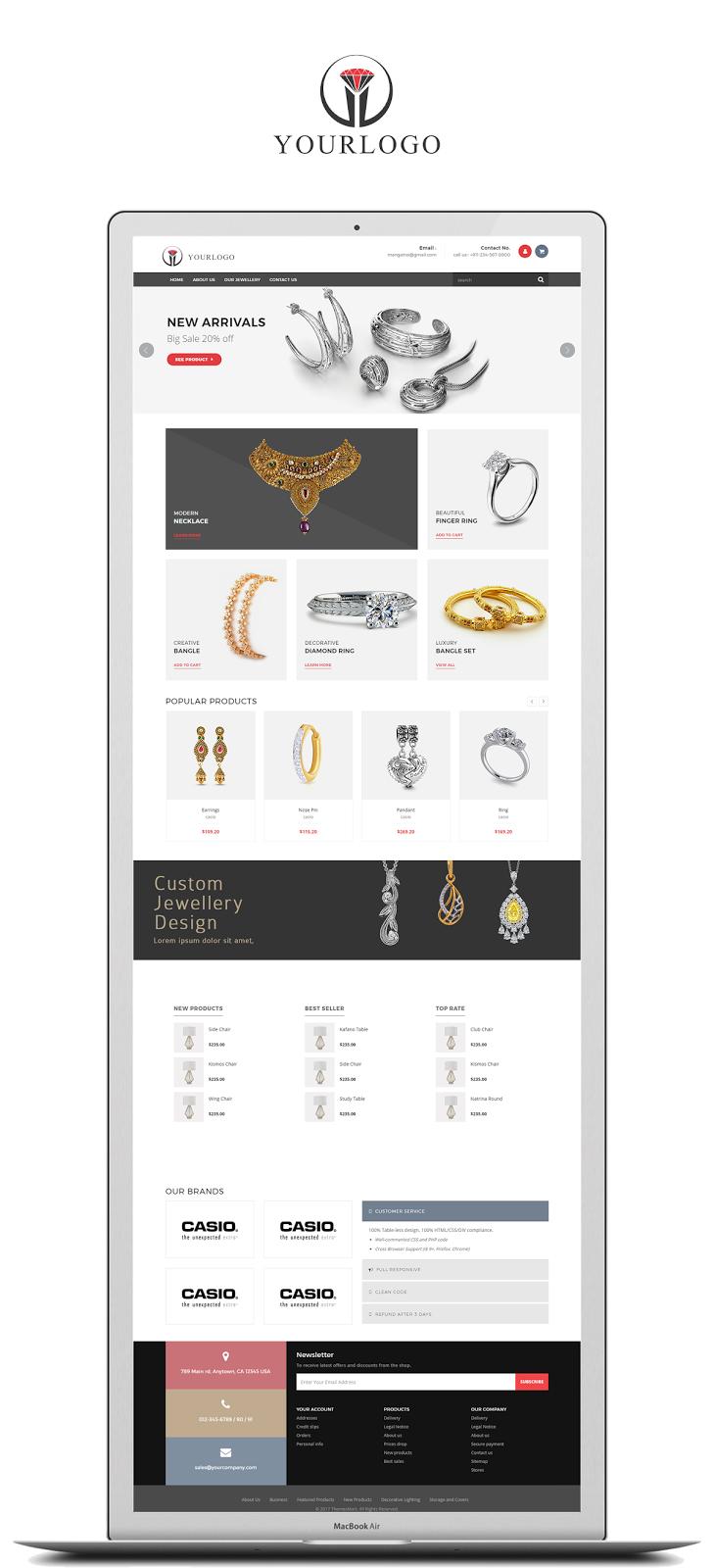 Jewellery Website Templates