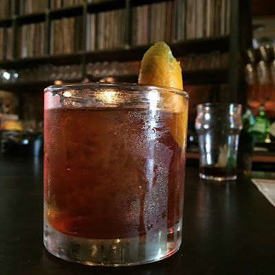 The Old-Fashioned at The Nightingale Room in Houston, TX