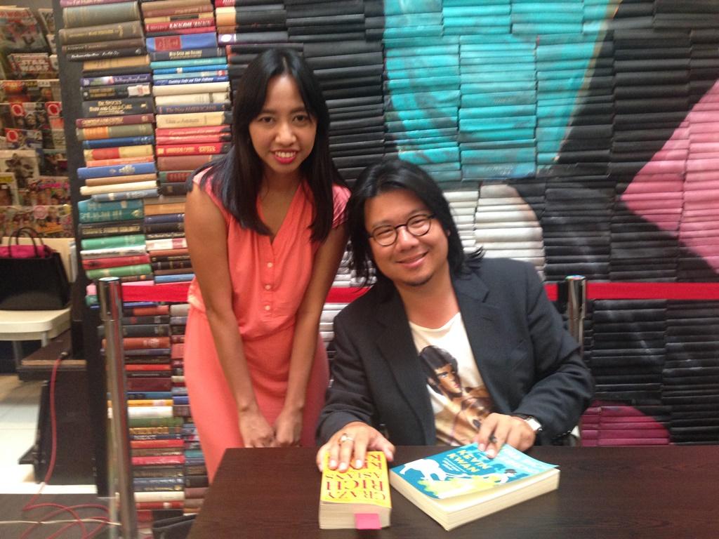Kevin Kwan book tour, astrid leong, china rich girlfriend sequel, kevin kwan third book
