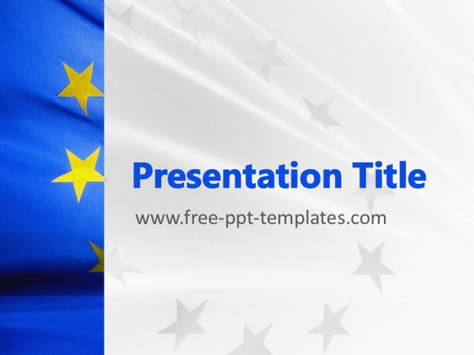 eu ppt template, Modern powerpoint