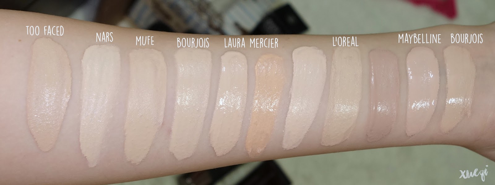 Makeup forever hd powder vs laura mercier