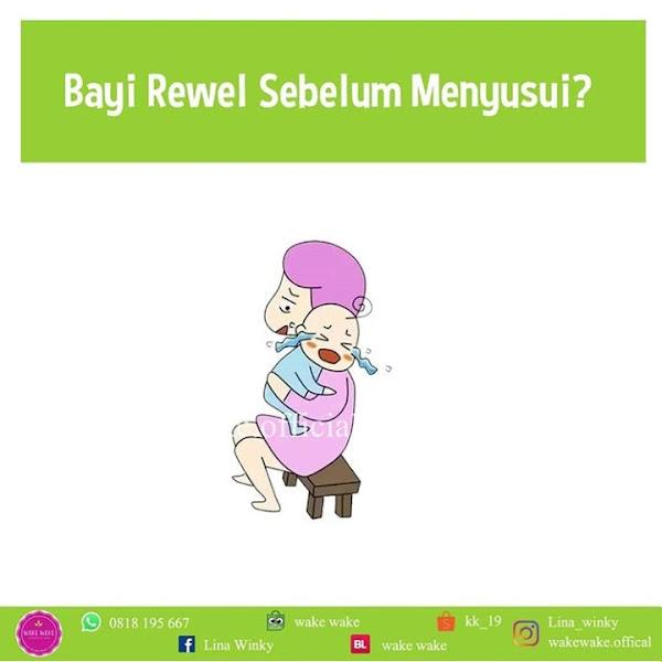 Kenapa Bayi Rewel Sebelum Menyusu?