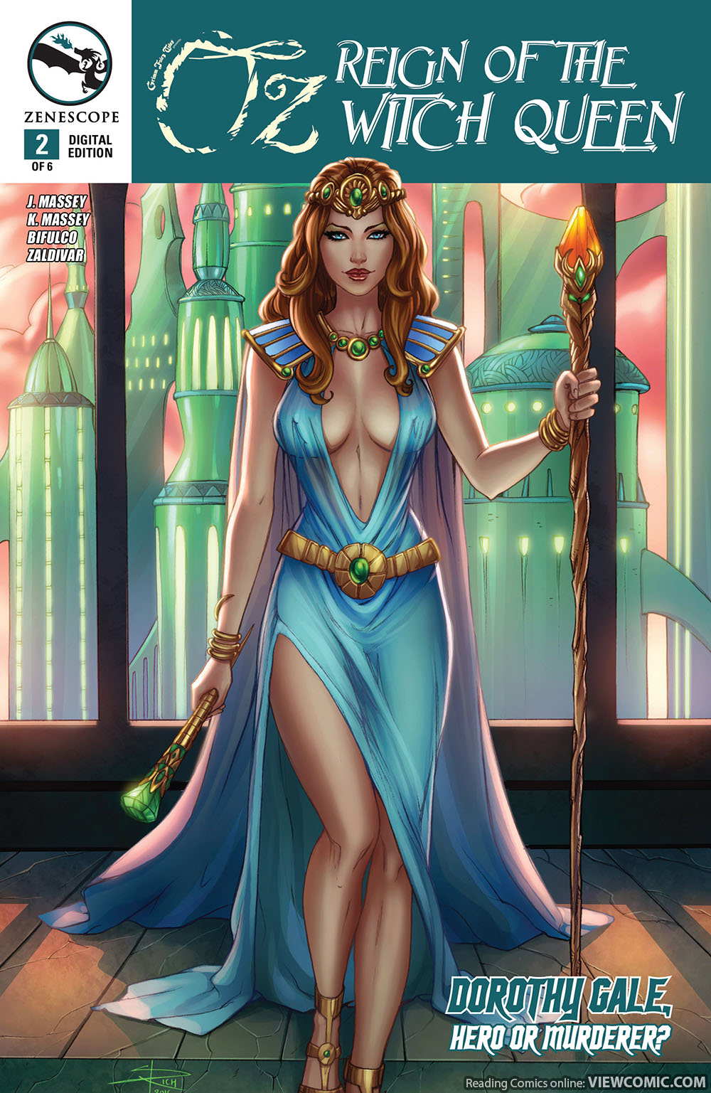 Grimm Fairy Tales Presents Oz Reign Of The Witch Queen