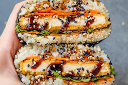 Easy Meals on The Go 'Katsu' Sushi Sandwiches