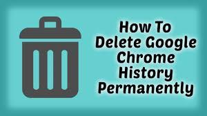 How to Delete Google Chrome History