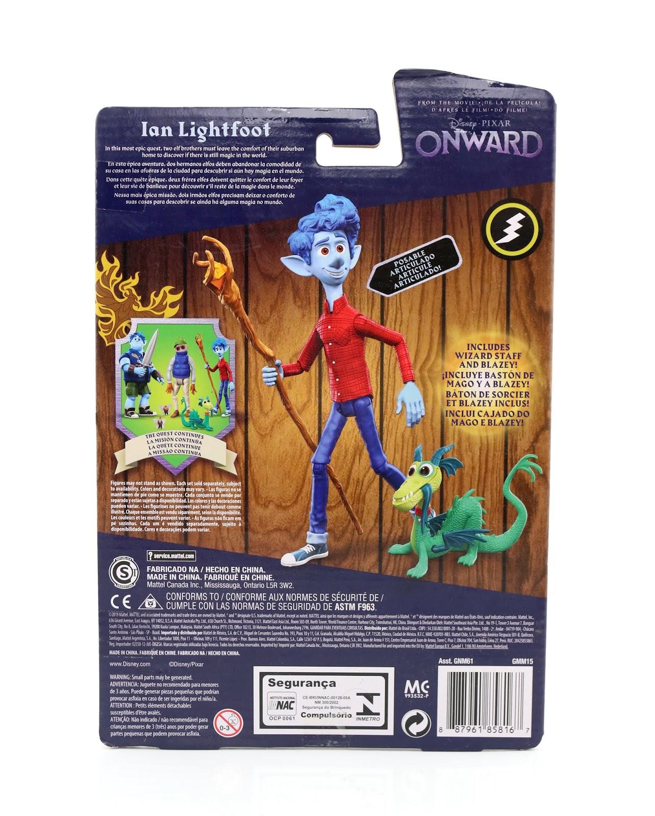 pixar onward action figures mattel ian