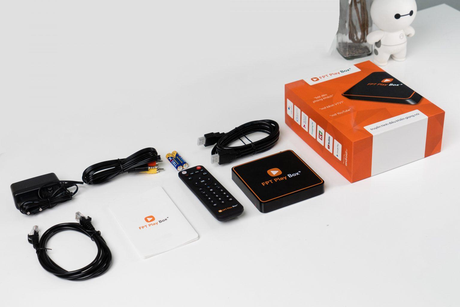 FPT Play BOX+ 2020 (S550) Ram 2G Tại FPT Bến Tre Full BOX