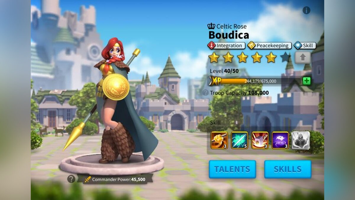Boudicca and Lohar (best epic peacekeeping commanders)