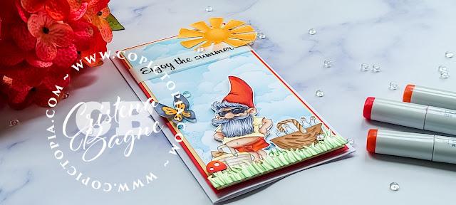 Enjoy The Summer Digital Stamp The Paper Shelter