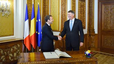 Emmanuel Macron, Franciaország, Klaus Iohannis, román-francia kapcsolatok, Románia