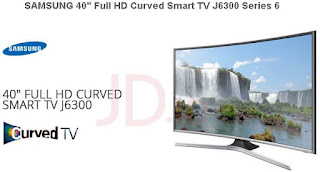 "SAMSUNG 40"" Full HD Curved Smart TV J6300 Series 6"