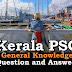 Kerala PSC General Knowledge Question and Answers - 27