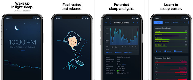 screenshot_257 We have released an application that promises to stop your snoring Apple