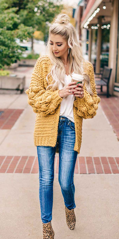23 Stylish Fall Fashion Ideas for Women Over 30. We've taken the liberty of compiling a list of fall outfit ideas for women over 30. Fall Style via higiggle.com | cardigan + jenas outfits | #fashion #falloutfits #style #cardigan