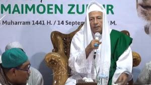 Habib Luthfi Ungkap Tugas Kewalian Mbah Maimoen Zubair