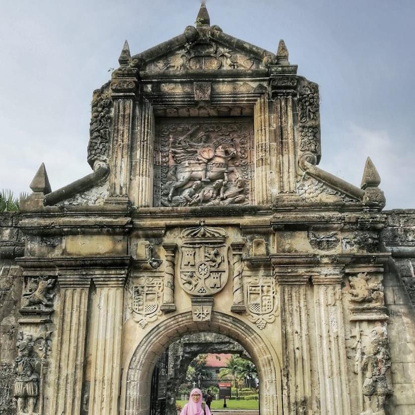 Mengulik Sejarah Fort Santiago di Manila Filipina