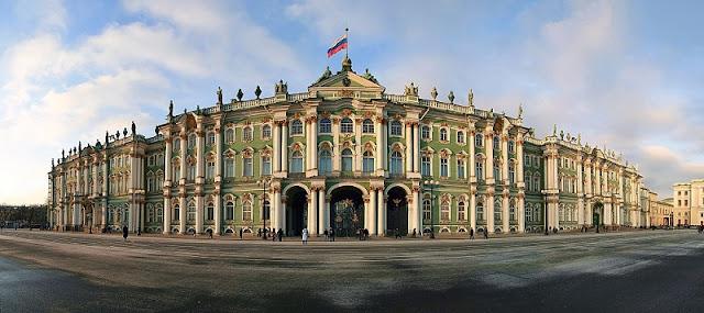 6. Cung điện Mùa Đông, St. Petersburg, Nga