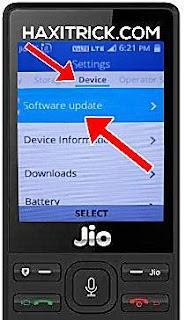 Jio Phone Me Software Update Kya Hota Hai Tarika Batao