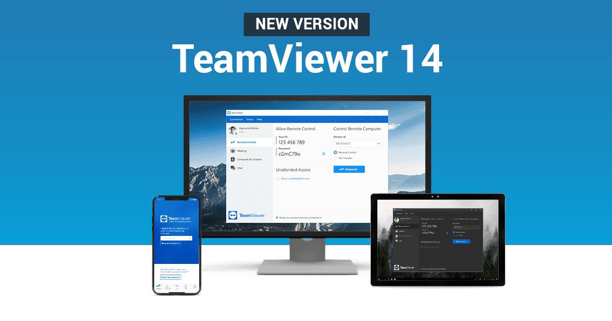 Download TeamViewer 14 Full Crack | Phần Mềm Kết Nối Máy Tính Từ Xa